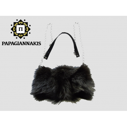 WOMENS FUR BAG