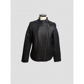WOMEN LEATHER JACKET PERFECTO BLACK