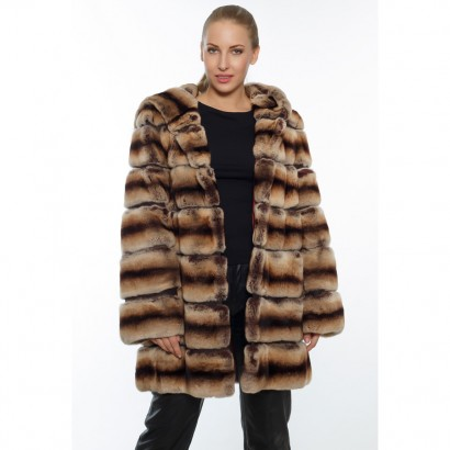 CARDIGAN WOMEN FUR REX CINCILA