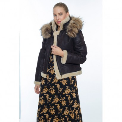 WOMEN FAUX FUR SHEEPSKIN WOMEN
