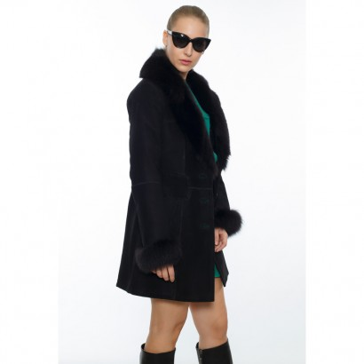 WOMEN SHEEPSKIN BLACK